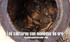 Los cántaros con monedas de oro
