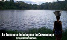 La tamalera de la laguna de Cuzcachapa
