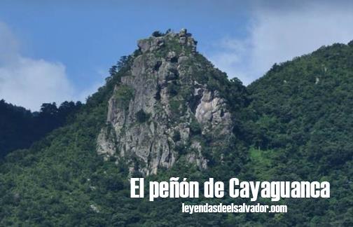 El peñón de Cayaguanca