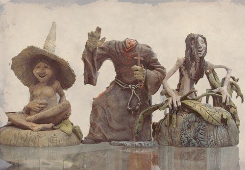Personajes de leyendas salvadoreñas