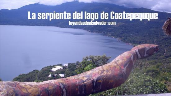 La serpiente del Lago de Coatepeque