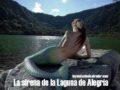La sirena de la Laguna de Alegría