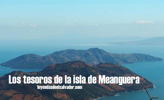 Los tesoros de la isla de Meanguera
